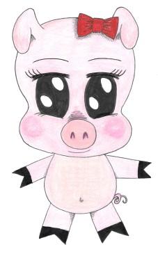 Petunia P. Pig